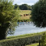 The bumps on the River Cam 23rd July 2009